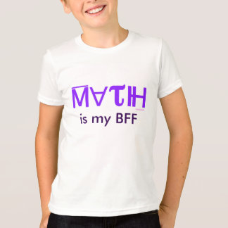 MATH IS MY BFF kid's t-shirt