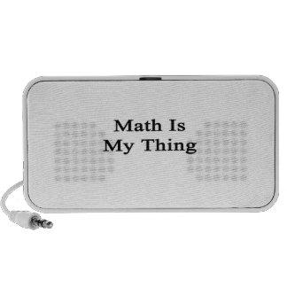 Math Is My Thing iPod Speaker