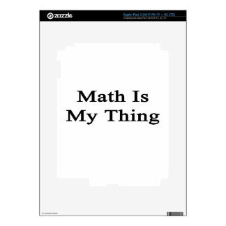 Math Is My Thing Skin For iPad 3