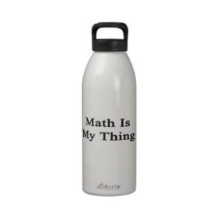 Math Is My Thing Reusable Water Bottle