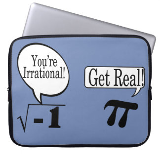 Math is Not always Rational Laptop Sleeve
