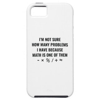 Math Is One Of Them iPhone SE/5/5s Case