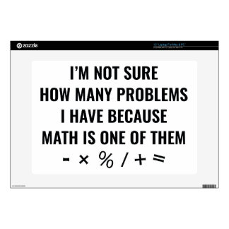 Math Is One Of Them Laptop Skins