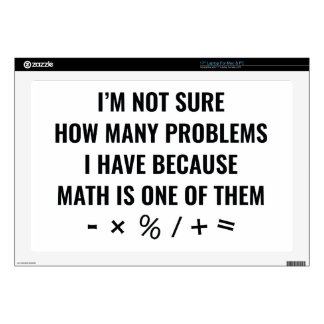 Math Is One Of Them Skin For Laptop