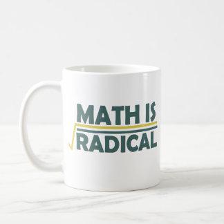 Math is Radical Classic White Coffee Mug