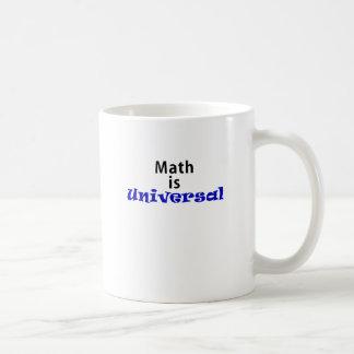 Math is Universal Coffee Mug