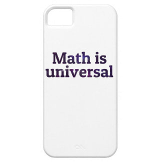 Math is universal galaxy iPhone SE/5/5s case