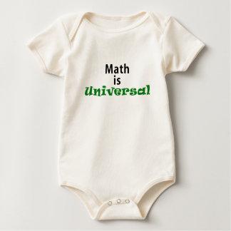 Math is Universal Romper