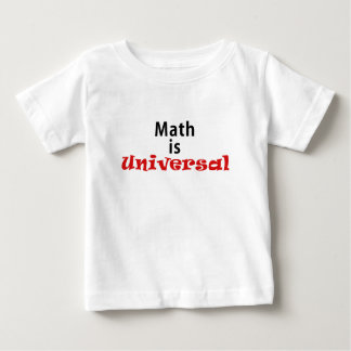Math is Universal T-shirt