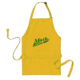 Math Jock Green Adult Apron