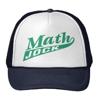 Math Jock Green Trucker Hats