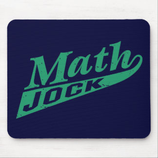 Math Jock Green Mouse Mat