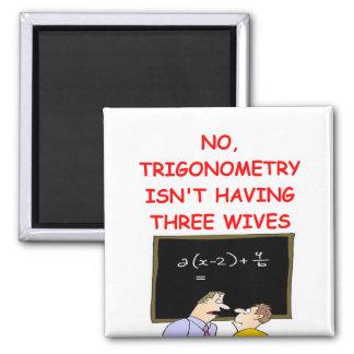 math joke 2 inch square magnet