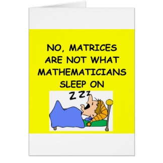 math joke card