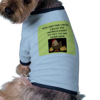 math joke pet shirt