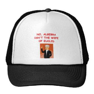 math joke trucker hat