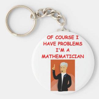 math joke keychain