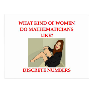 math joke post cards