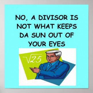 math joke print