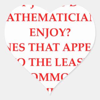 math joke heart stickers