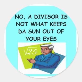 math joke stickers