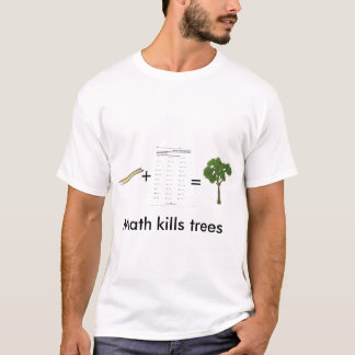 Math Kills Trees (Mens) T-Shirt