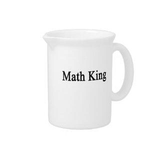 Math King Drink Pitcher