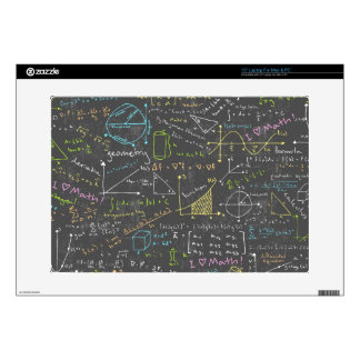 """Math Lessons 15"""" Laptop Decal"""