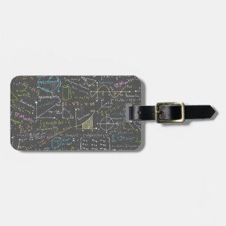 Math Lessons Bag Tag