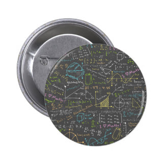 Math Lessons 2 Inch Round Button