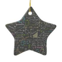 Math Lessons Ceramic Ornament