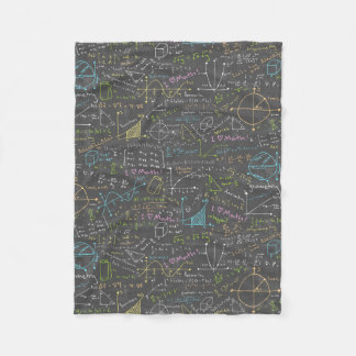 Math Lessons Fleece Blanket