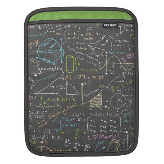 Math Lessons iPad Sleeve