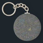 "Math Lessons Keychain<br><div class=""desc"">Dozens of equations from various fields of math!</div>"