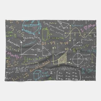 Math Lessons Hand Towels