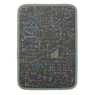 Math Lessons Sleeves For MacBook Air