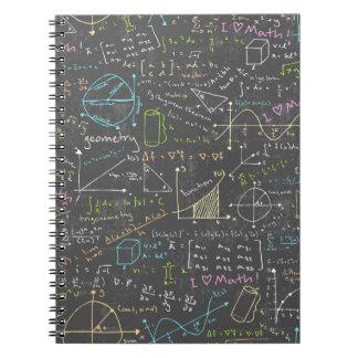 Math Lessons Spiral Notebook