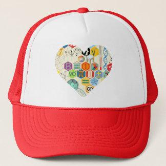 math love cup trucker hat