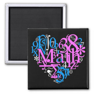 Math Love Magnet