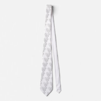 Math Love Neck Tie