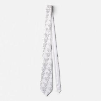 Math Love Neck Tie
