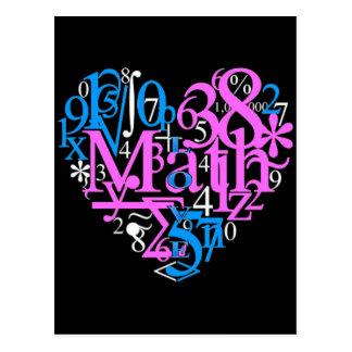 Math Love Postcard