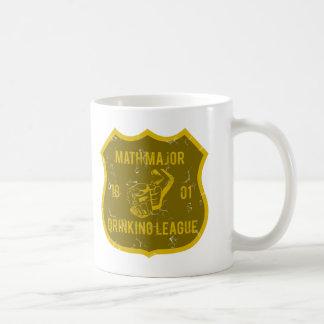 Math Major Drinking League Coffee Mug