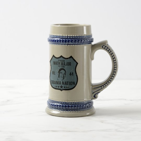 Math Major Obama Nation Beer Stein