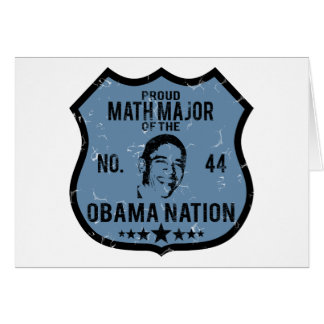 Math Major Obama Nation Card