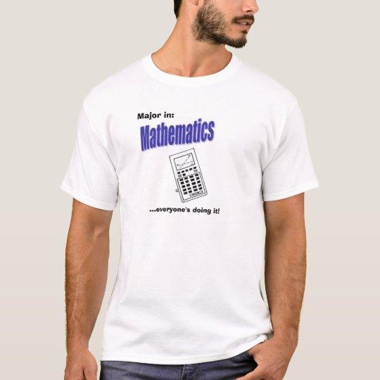 Math Major T-Shirt