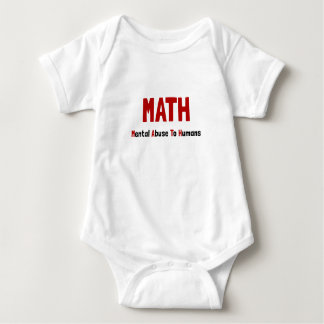 Math Mental Abuse Shirt