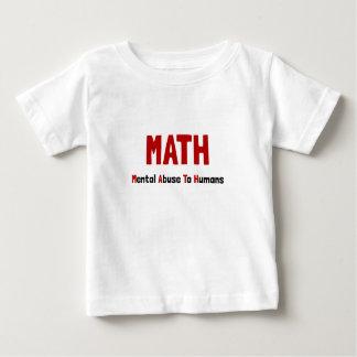 Math Mental Abuse T Shirt