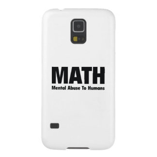 MATH Mental Abuse To Humans Galaxy S5 Cover