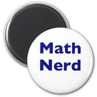 Math Nerd 2 Inch Round Magnet